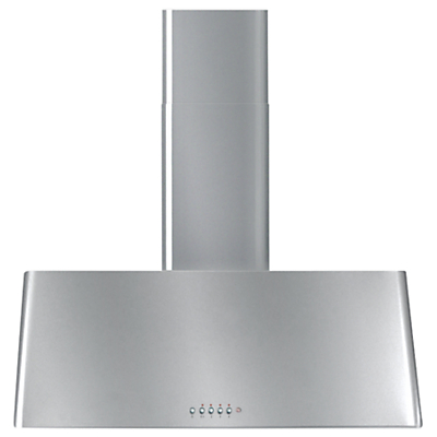 ILVE AGQ80 Modern Chimney Cooker Hood, Stainless Steel