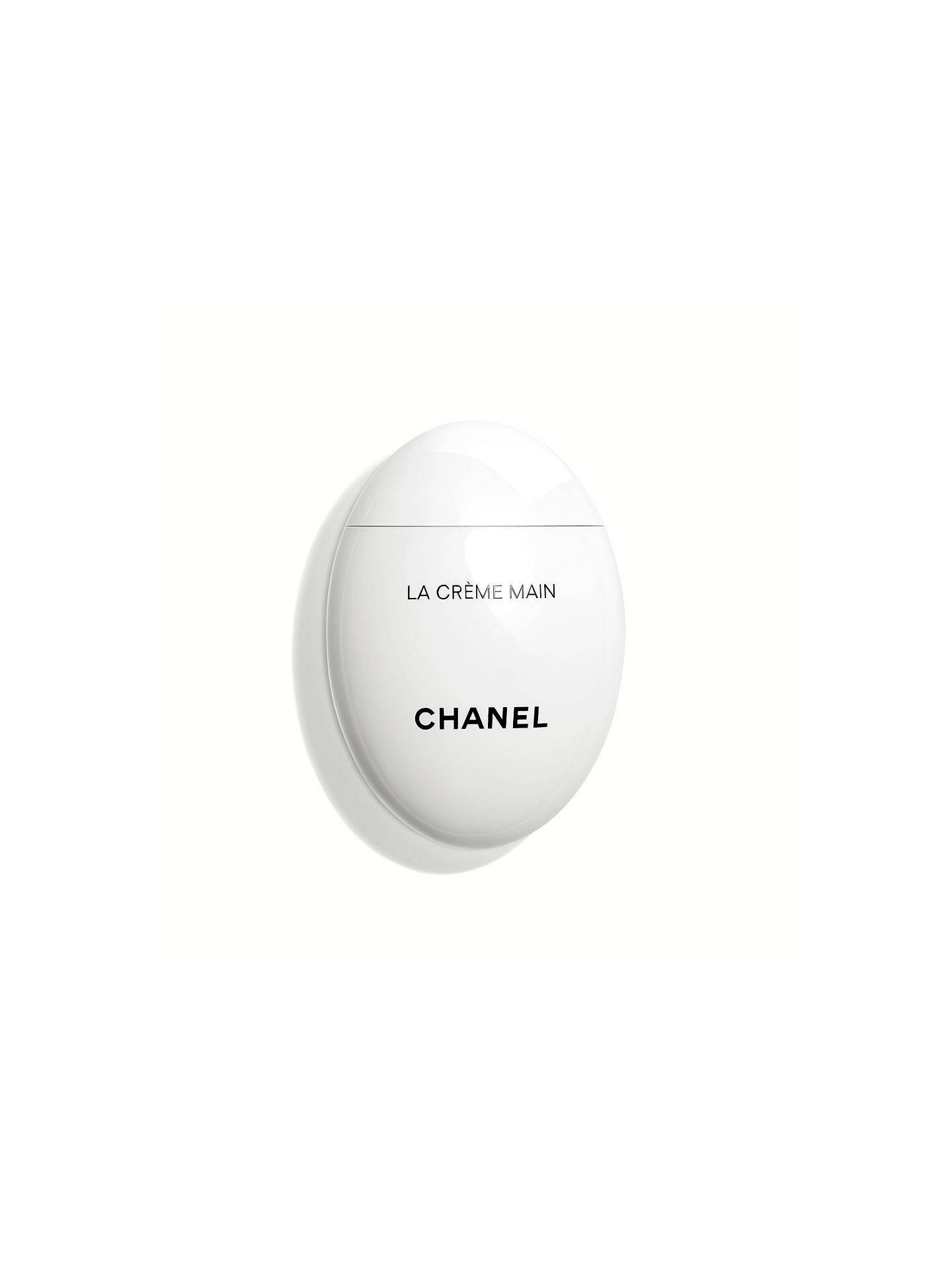 Chanel La Creme Main Smooth Soften Brighten Bottle