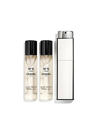 CHANEL N°5 L EAU Purse Spray 3 x 20ml 81d57ffb8c