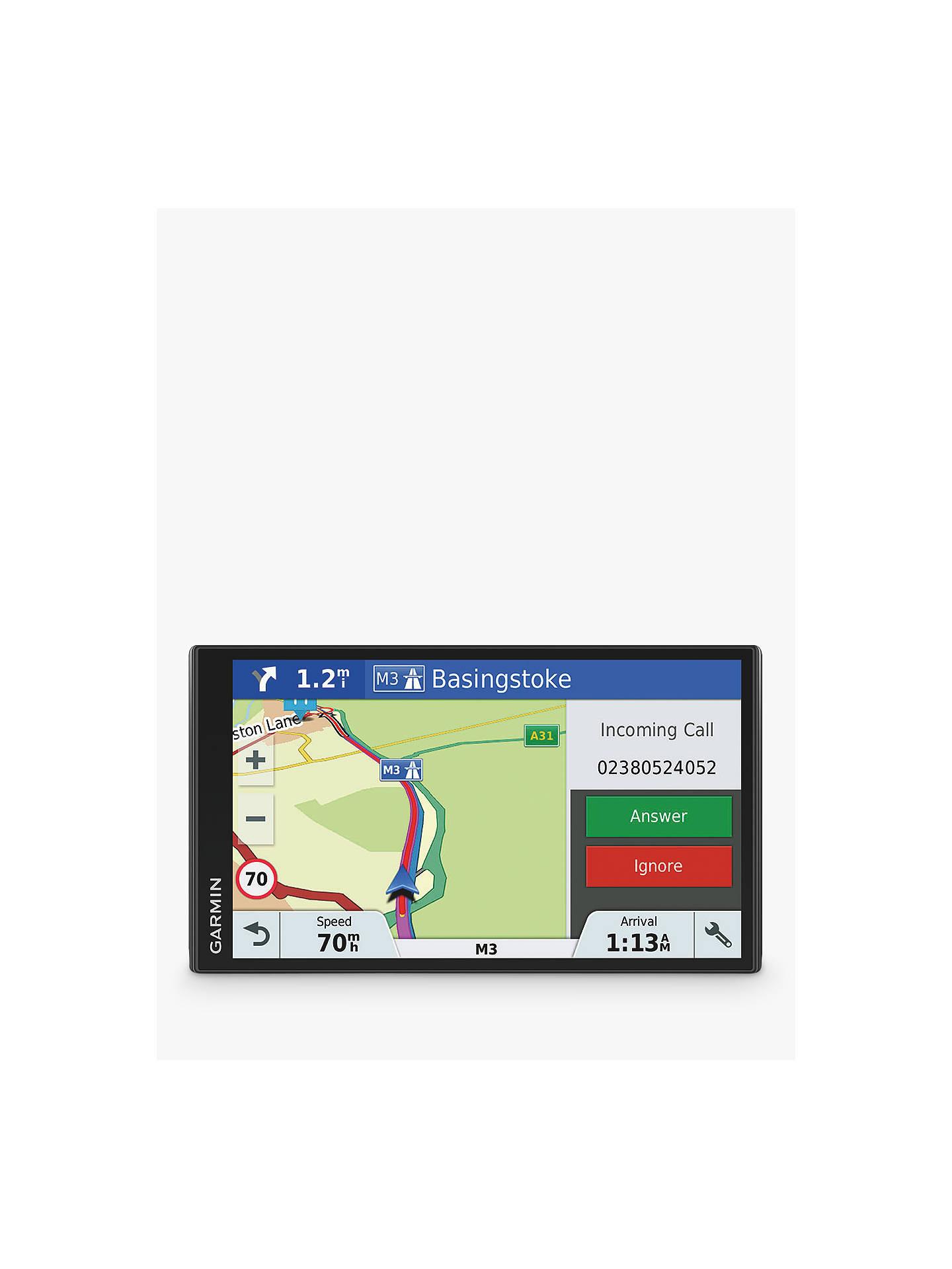 Garmin DriveSmart 61LMT-S Sat Nav With Bluetooth & Lifetime Map Updates, on sat cartoon, sat prep book, sat score chart 2014,