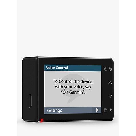 buy garmin dash cam 55 1440p with gps voice control. Black Bedroom Furniture Sets. Home Design Ideas