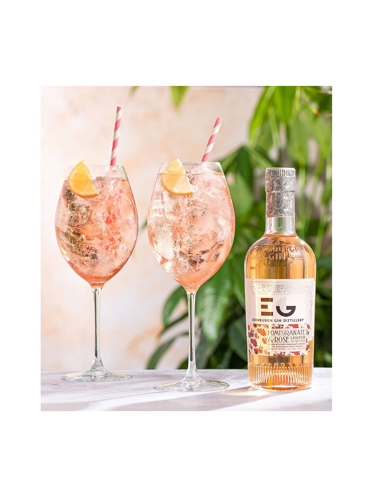 Buy Edinburgh Gin Pomegranate & Rose Liqueur, 50cl Online at johnlewis.com