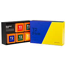 Buy T2 Breakfast Club Tea Selection, 160g Online at johnlewis.com