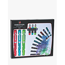 Buy Sheaffer Calligraphy Maxi Kit Pen, Set of 3 Online at johnlewis.com