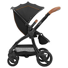 Buy egg Stroller Base and Seat with Fleece Liner, Espresso Online at johnlewis.com
