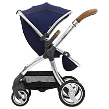 Buy egg Stroller Base and Seat with Fleece Liner, Regal Navy Online at johnlewis.com