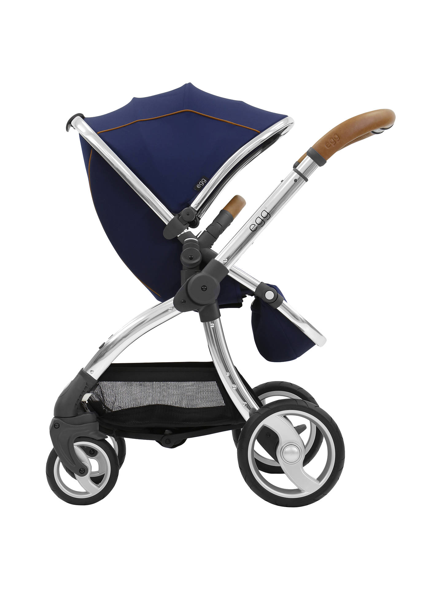 Buyegg Stroller Base and Seat with Fleece Liner, Regal Navy Online at johnlewis.com