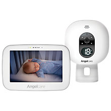 Buy Angelcare AC6510 Audio and Video Baby Monitor Online at johnlewis.com