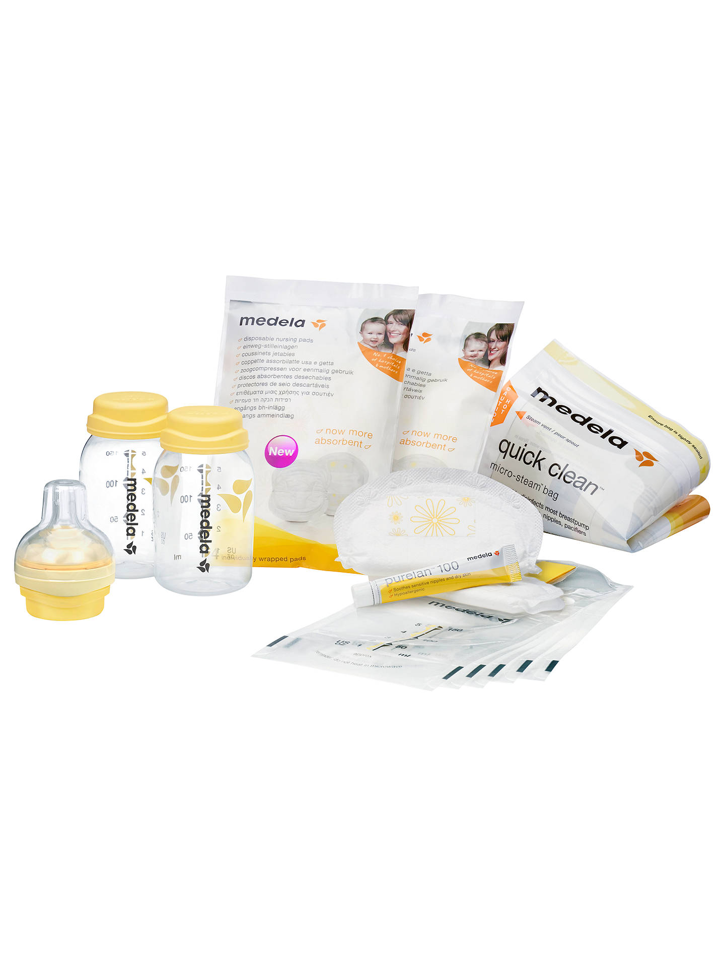 BuyMedela Breast Feeding Starter Kit Online at johnlewis.com ... f83672f02be0e