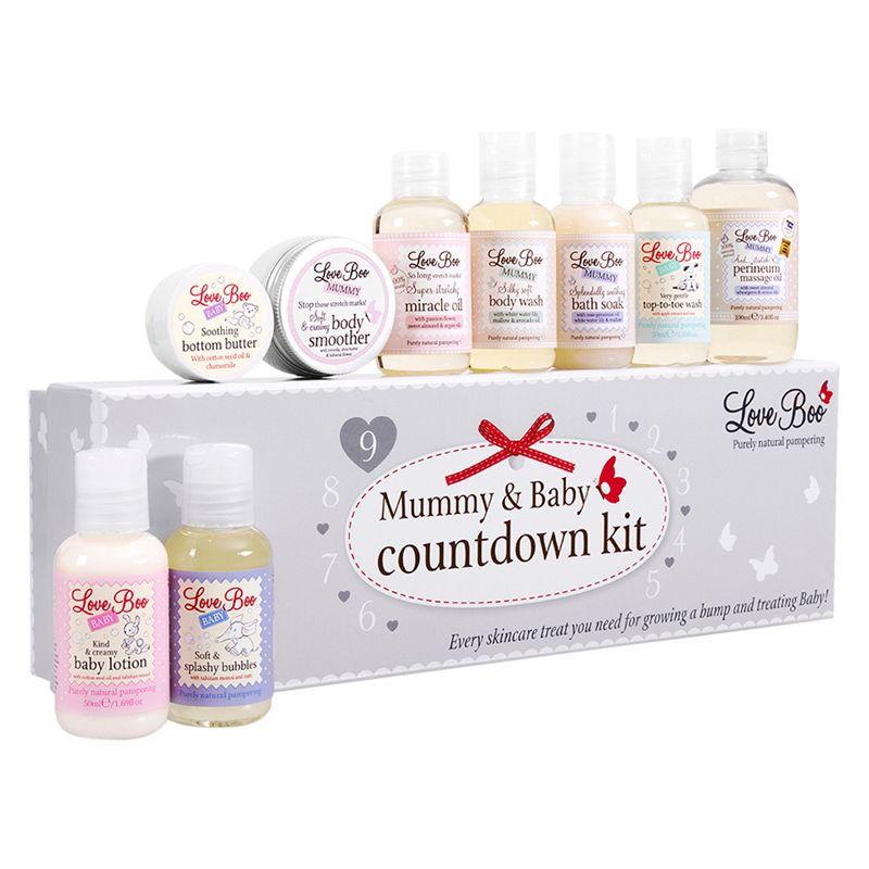Love Boo Toiletries Love Boo Mummy and Baby Countdown Kit