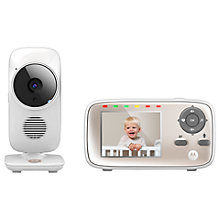 Buy Motorola MBP667 Digital Video Baby Monitor Online at johnlewis.com