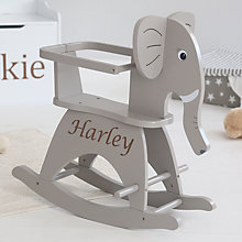 Buy My 1st Years Elephant Rocker, Grey Online at johnlewis.com