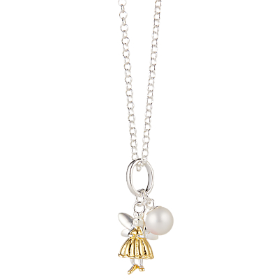 MOLLY BROWN   Molly Brown London Sterling Silver Fairy Wish Necklace, Gold   Goxip