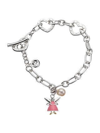 Molly Brown London Sterling Silver Fairy Wish Bracelet