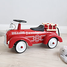 Buy My 1st Years Fire Engine Ride On Toy, Red Online at johnlewis.com