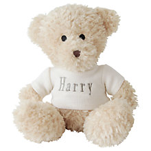 Buy My 1st Years Waffle Teddy Bear, Brown, Large Online at johnlewis.com