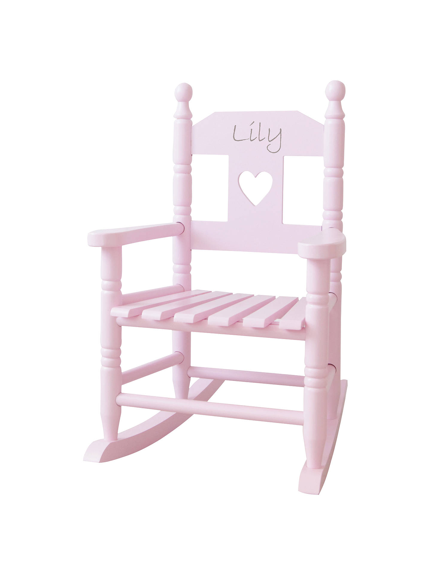 BuyMy 1st Years Personalised Rocking Chair, Pink Online at johnlewis.com