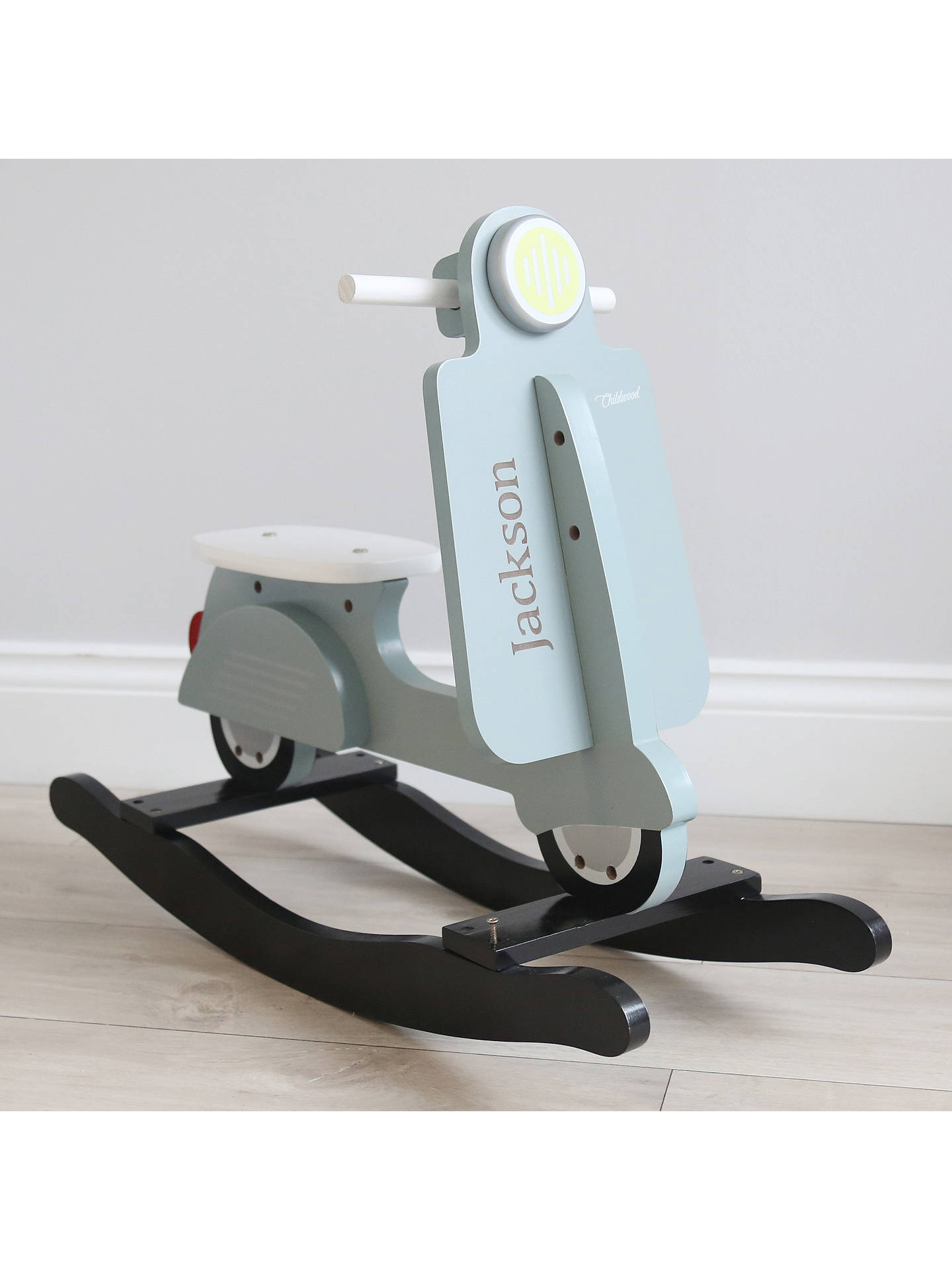 BuyMy 1st Years Rocking Scooter, Mint/Black Online at johnlewis.com