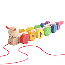 Buy My 1st Years Pull Along Caterpillar, Multi Online at johnlewis.com