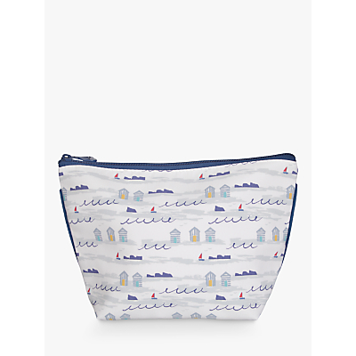 John Lewis A Day at the Beach Wash Bag, Multi