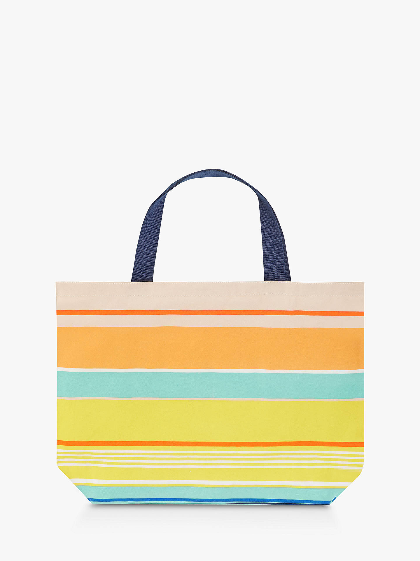 Partners Stripe Tote Beach Bag Large