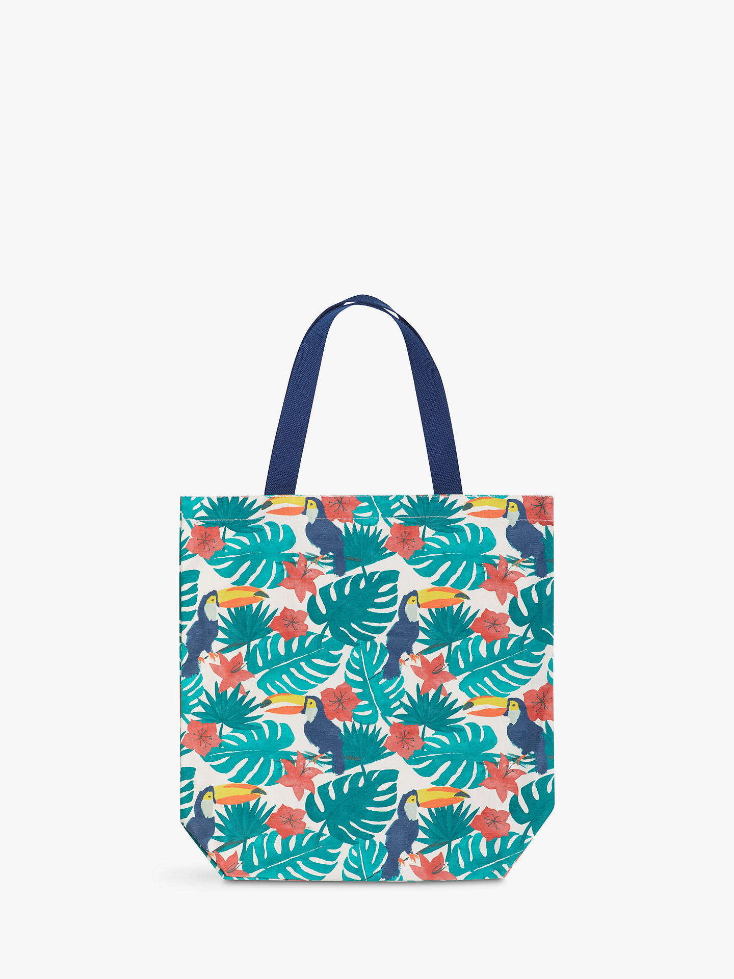 John Lewis Partners Toucan Tote Beach Bag Medium Online At Johnlewis