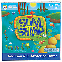 Buy Learning Resources Sum Swamp Additions & Subtraction Game Online at johnlewis.com