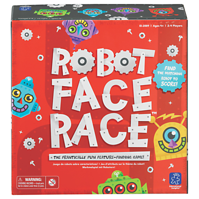 Image of Robot Face Race Game
