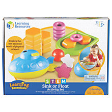 Buy Learning Resources STEM Sink Or Float Activity Set Online at johnlewis.com