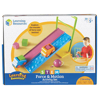 Image of Learning Resources STEM Force & Motion Activity Set
