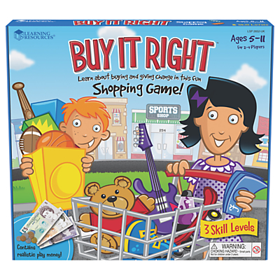 Image of Buy It Right Shopping Game