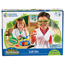 Buy Learning Resources Primary Science Lab Set Online at johnlewis.com