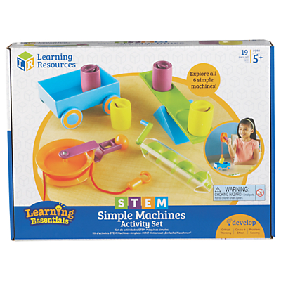 Image of Learning Resources STEM Simple Machines Activity Set