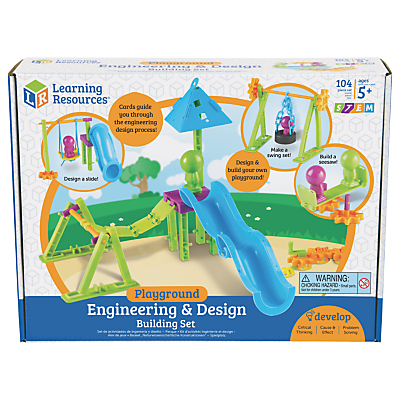 Image of Learning Resources STEM Engineering & Design Building Set