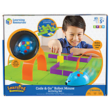 Buy Learning Resources Code & Go Robot Mouse Activity Set Online at johnlewis.com