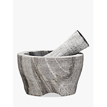 Buy John Lewis Grey Marble Pestle and Mortar, Dia.14cm Online at johnlewis.com