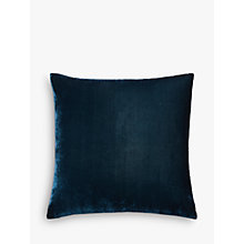 Buy west elm Lush Velvet Cushion Online at johnlewis.com