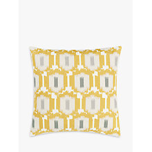 Buy John Lewis Agra Cushion, Saffron Online at johnlewis.com
