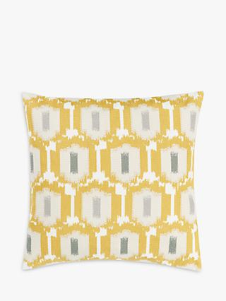 John Lewis & Partners Agra Cushion, Saffron