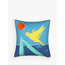 Buy House by John Lewis Canary Cushion, Multi Online at johnlewis.com