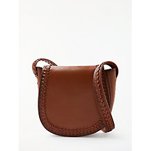 Buy AND/OR Isabella Whipstitch Saddle Bag Online at johnlewis.com