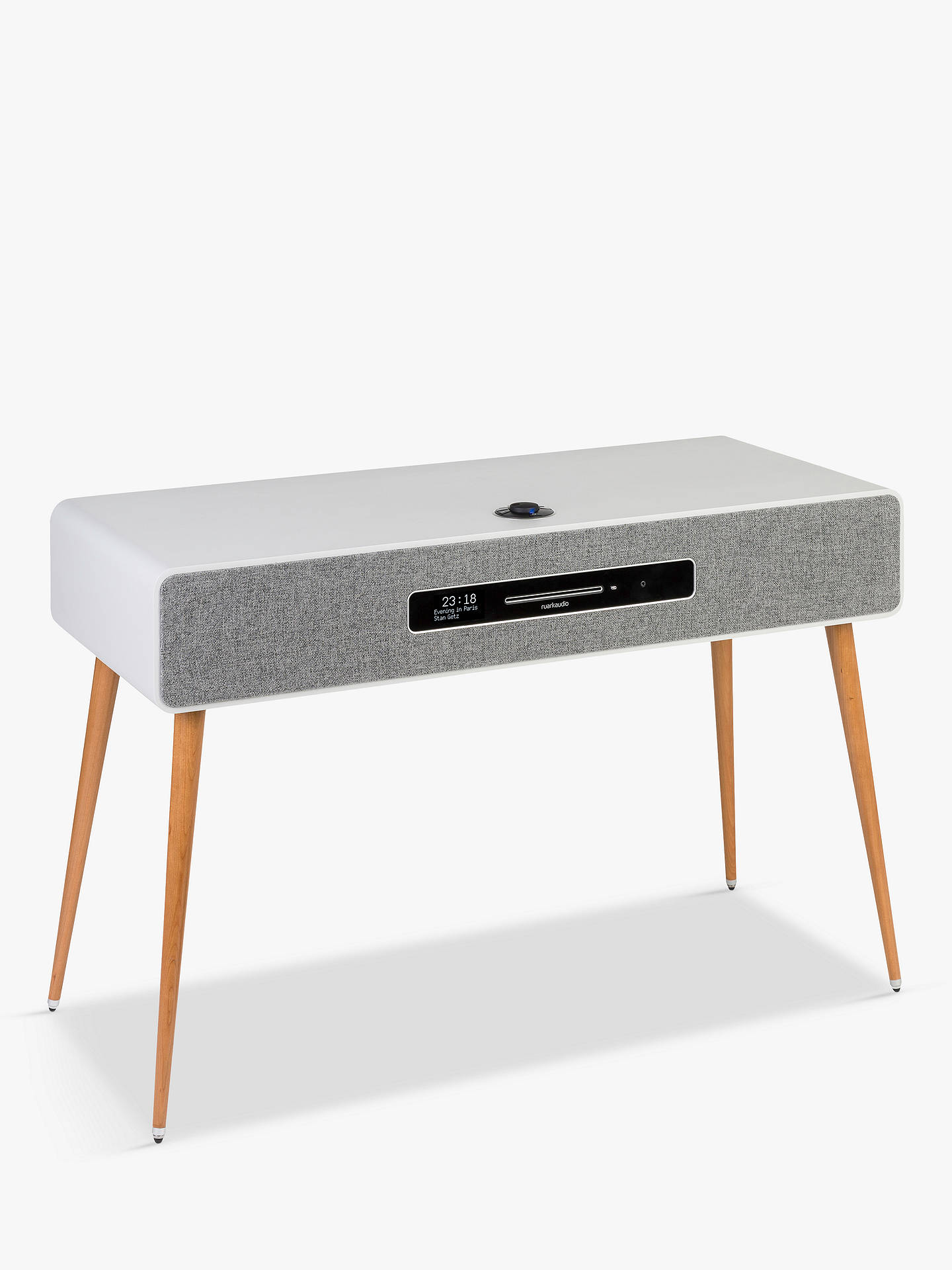 Buy Ruark R7 Mk3 DAB/DAB+/FM/Internet Radio & CD Bluetooth Wi-Fi Wireless All-In-One Music System, Soft Grey Online at johnlewis.com