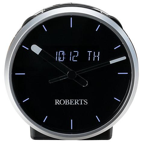 buy roberts ortus time dab dab fm digital alarm clock radio john lewis. Black Bedroom Furniture Sets. Home Design Ideas