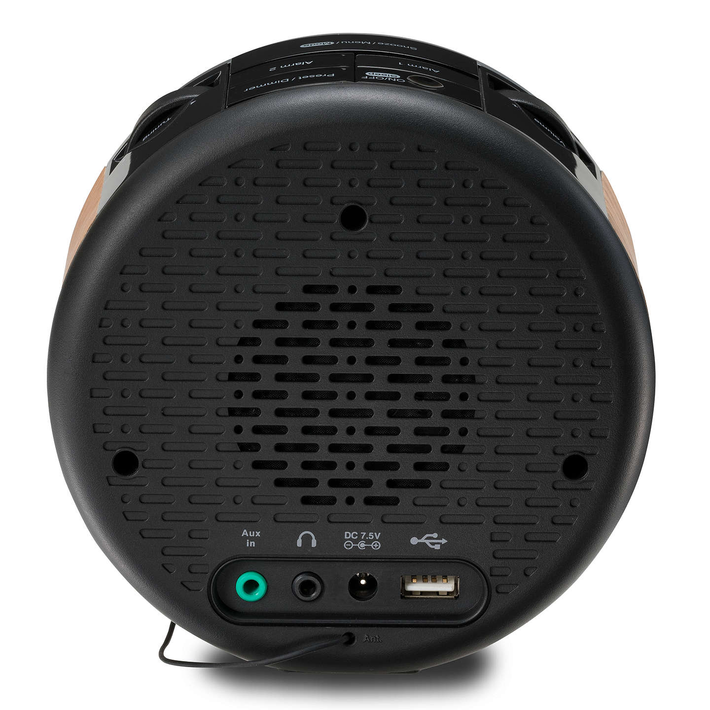 BuyROBERTS Ortus Time DAB/DAB+/FM Digital Alarm Clock Radio Online at johnlewis.com