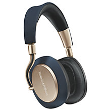 Buy Bowers & Wilkins PX Noise Cancelling Wireless Over Ear Headphones with Mic/Remote Online at johnlewis.com