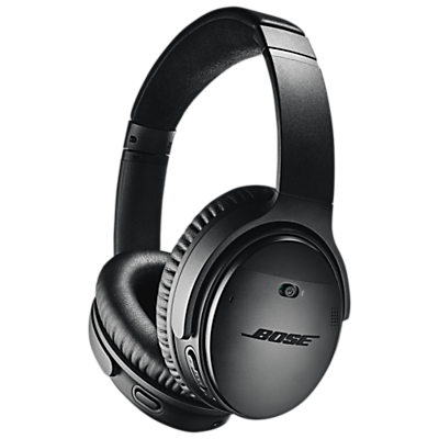 Image of Bose® QuietComfort® Noise Cancelling® QC35 II Over-Ear Wireless Bluetooth NFC Headphones With Mic/Remote & Built-in Google Assistant & Alexa