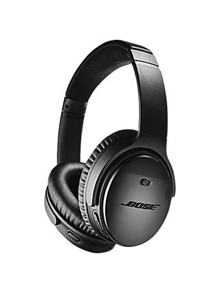 Bose® QuietComfort® Noise Cancelling® QC35 II Over-Ear Wireless Bluetooth NFC Headphones With Mic/Remote & Built-in Google Assistant & Alexa