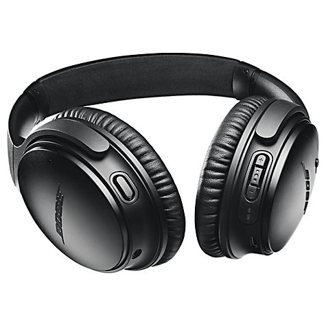 Buy Bose® QuietComfort® Noise Cancelling® QC35 II Over-Ear Wireless Bluetooth NFC Headphones With Mic/Remote & Built-in Google Assistant Online at johnlewis.com