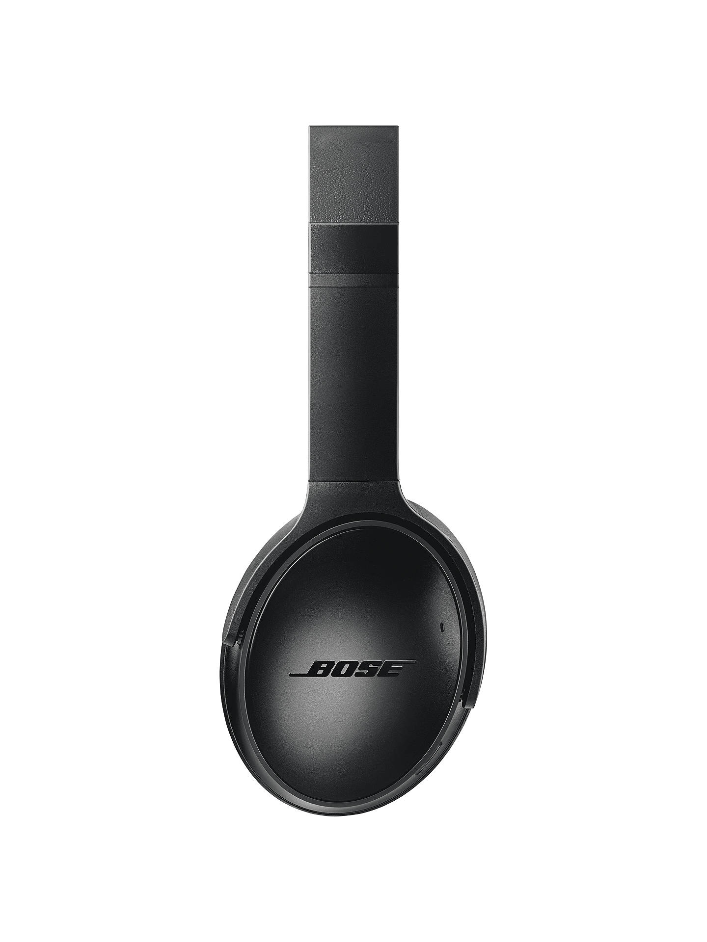 Buy Bose® QuietComfort® Noise Cancelling® QC35 II Over-Ear Wireless Bluetooth NFC Headphones With Mic/Remote & Built-in Google Assistant & Alexa, Black Online at johnlewis.com