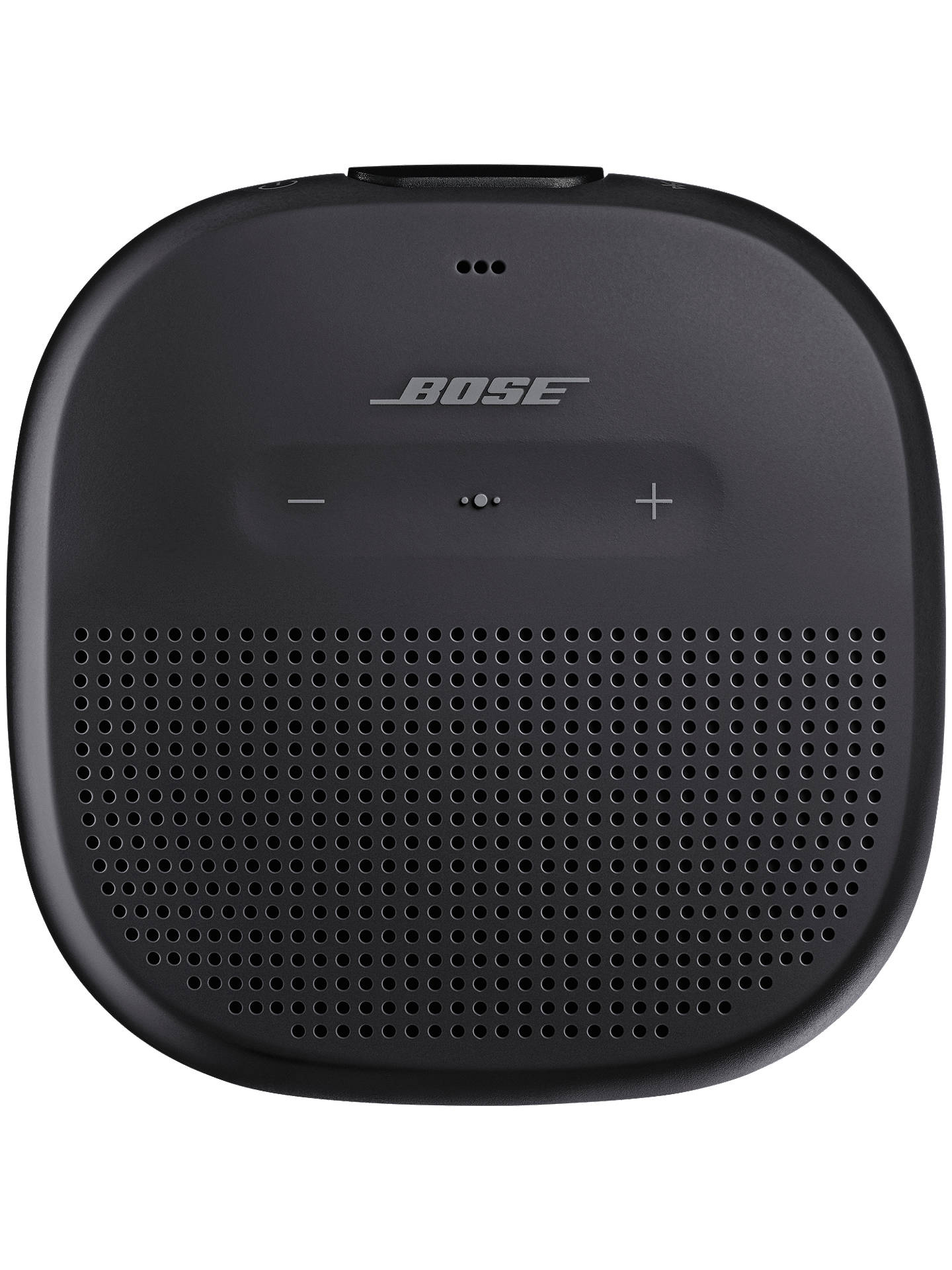BuyBose® SoundLink® Micro Water-resistant Portable Bluetooth Speaker with Built-in Speakerphone, Black Online at johnlewis.com